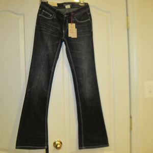 NWT DECREE Womens Low Rise Boot Cut Jeans Size 5